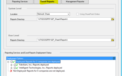 Simplify Your Reporting with Excel Reports in Dynamics GP