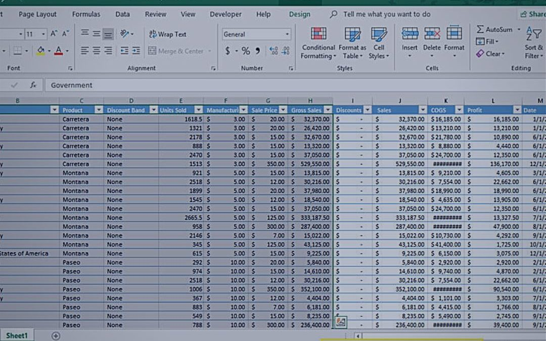 Become a Spreadsheet Master with Five New Excel Tips for 2019