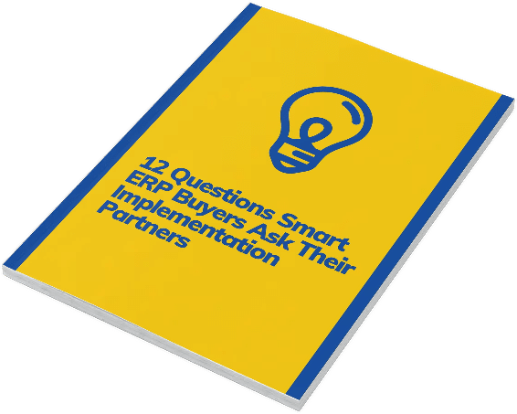 12 Questions to ask ERP partners eguide
