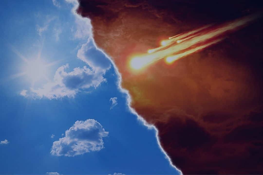 comet to sky